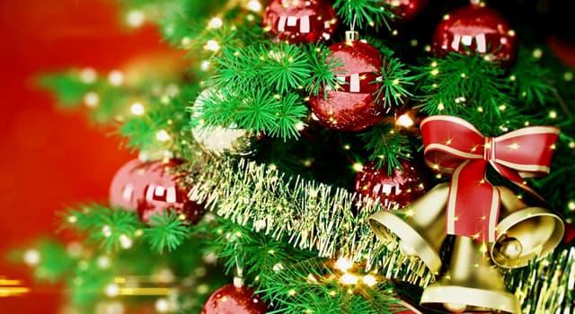 Sociedad Pregunta Trivia: ¿Cómo se llama un material brillante atado a un hilo y usado especialmente para adornar árboles de navidad?