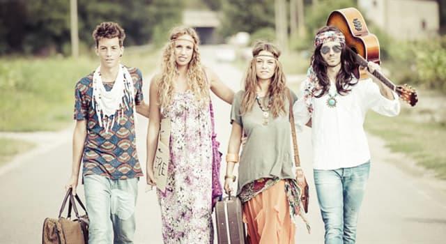 Cultura Pregunta Trivia: ¿Cuál de estos hechos es falso con respecto a los hippies?