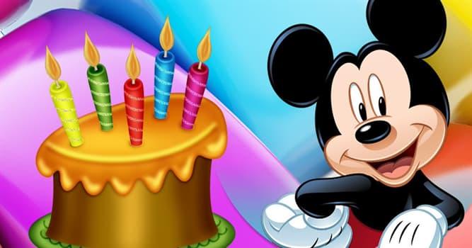 Cultura Pregunta Trivia: ¿Qué edad tiene para 2020 Mickey Mouse?
