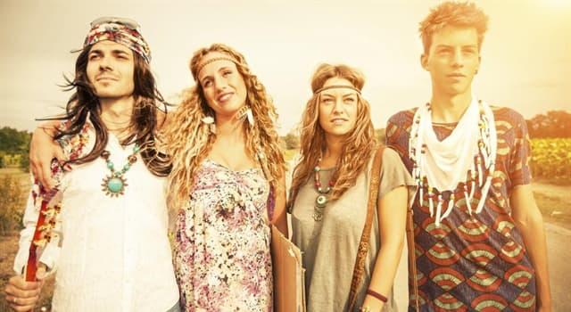 Historia Pregunta Trivia: ¿En qué década comenzó el movimiento hippie?