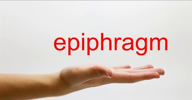 Nature Trivia Question: What is an epiphragm?