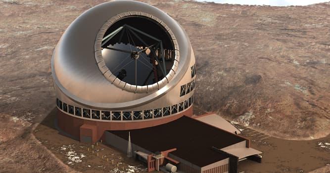 Science Trivia Question: What will be the size of the largest telescope which is going to be built on Mauna Kea?