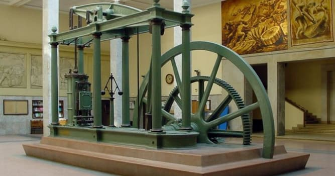 History Trivia Question: Who is famous for improving Thomas Newcomen's 1712 Newcomen steam engine?