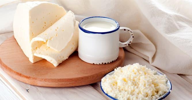 Cultura Pregunta Trivia: ¿Cuál de los siguientes es un subproducto de la producción de queso?