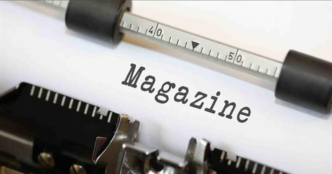 Culture Trivia Question: In what language was the first magazine published?