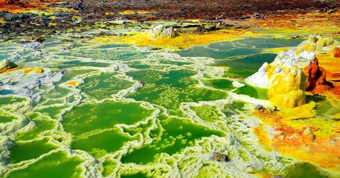 Geography Trivia Question: In which African country is the Danakil Depression located?
