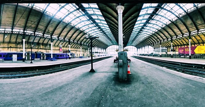 Geography Trivia Question: In which UK city is Paragon Station?