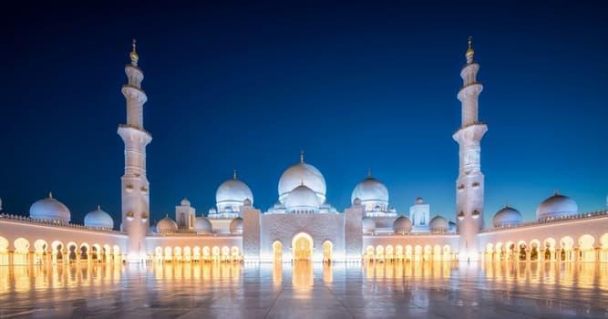 Cultura Pregunta Trivia: ¿Qué religión practican los musulmanes?
