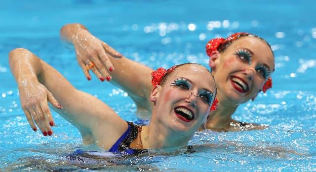 Deporte Pregunta Trivia: ¿Qué nombre tenía antiguamente la natación sincronizada?