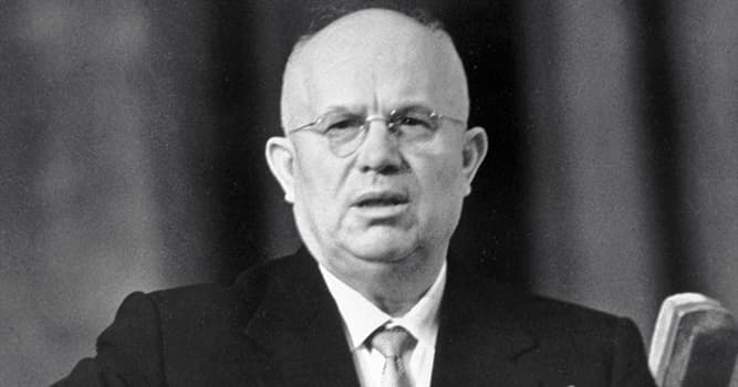 History Trivia Question: Khrushchev's famous shoe-banging outburst at the UN was in response to a delegate from what nation?