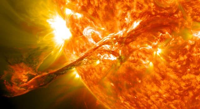 Сiencia Pregunta Trivia: ¿Qué objeto astronómico tiene una superficie en la que ocurren las llamadas protuberancias?