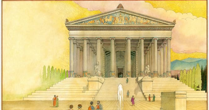 History Trivia Question: The Temple of Artemis was located in which ancient Greek city?