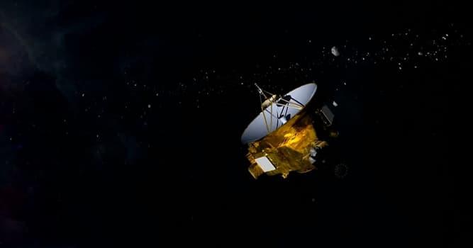 Wissenschaft Wissensfrage: Was ist die Hauptaufgabe von NASA's New Horizons Raumfahrzeug?