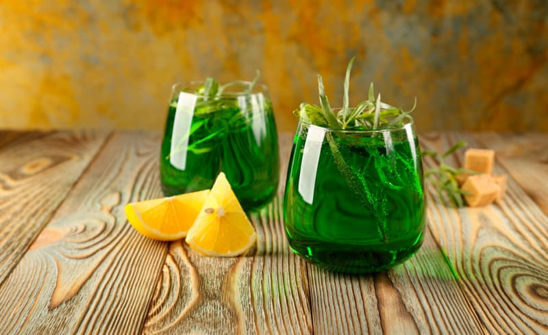 Society Trivia Question: What is the name of a Georgian carbonated soft drink that is flavoured with tarragon?