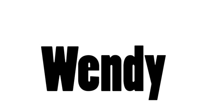 Culture Trivia Question: Which novelist is credited with popularising the name Wendy?