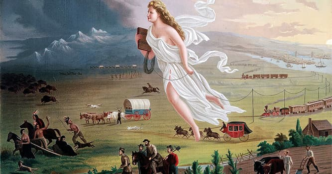 "Culture Trivia Question: Who first popularized the phrase ""Manifest Destiny""?"