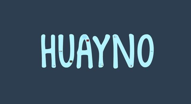 """Cultura Pregunta Trivia: ¿A qué se le llama """"Huayno"""" propio de la región andina de Perú, Bolivia, norte de Argentina y norte de Chile?"""