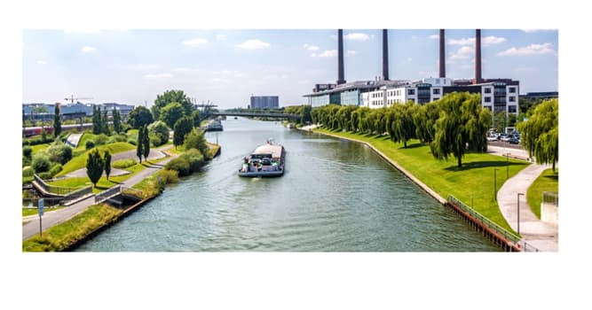 Fluss Wolfsburg