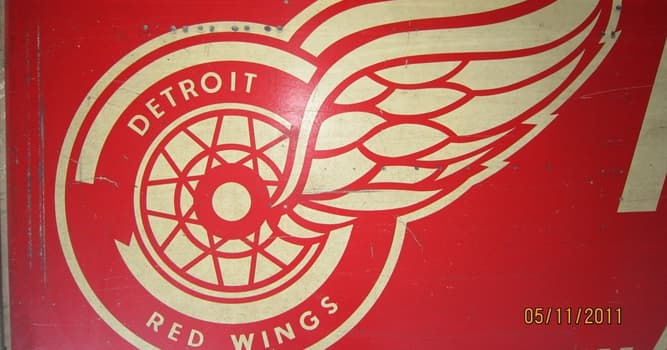 Sport Trivia Question: As of 2019, the Detroit Red Wings hockey team holds which place in total championships?