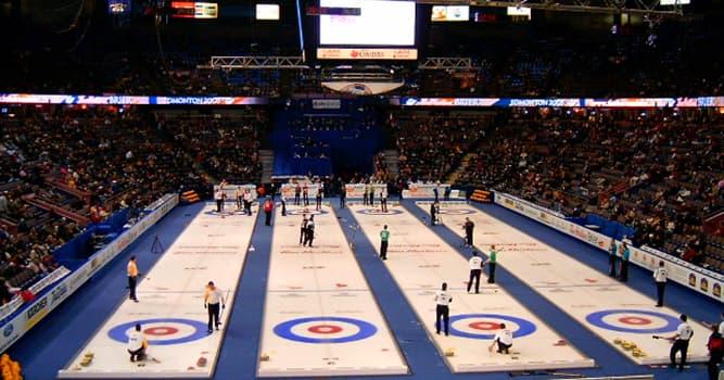Sport Wissensfrage: Aus welchem Stoff fertigt man die Curlingsteine an?