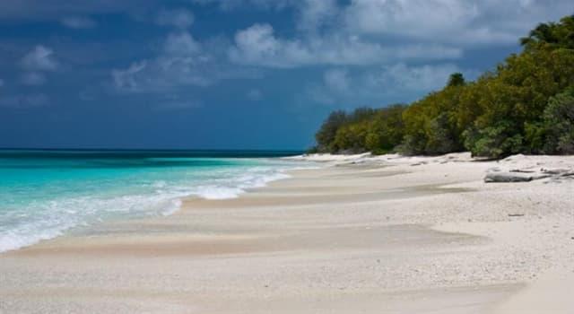 Naturaleza Pregunta Trivia: ¿Cómo se forman los atolones?