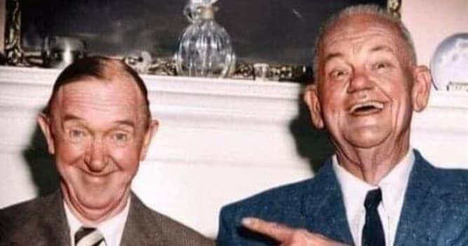 """Películas y TV Pregunta Trivia: ¿Cuál era el nombre del actor quien, junto a Stan Laurel, formó la dupla conocida como """"El gordo y el flaco""""?"""