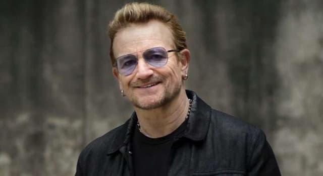 """Cultura Pregunta Trivia: ¿Cuál es el nombre real de """"Bono"""" el vocalista del grupo de rock U2?"""