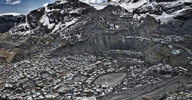 Geografía Pregunta Trivia: ¿Cuál es la ciudad más alta del planeta?