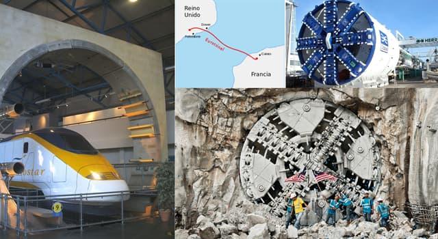 Сiencia Pregunta Trivia: ¿Cuántas tuneladoras se utilizaron para construir el eurotúnel que une Francia con Inglaterra por tierra?