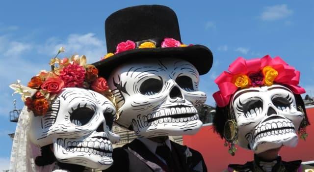 Cultura Pregunta Trivia: ¿El Día de los Muertos es una fiesta anual que se celebra en cuál de estos países?