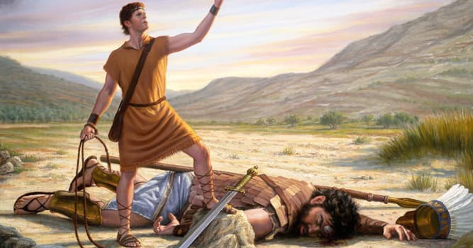 Cultura Pregunta Trivia: ¿En qué trabajaba David antes de matar a Goliat y convertirse en rey?