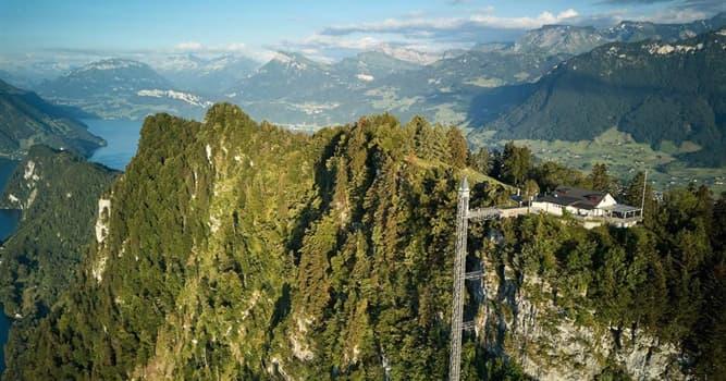 Geografía Pregunta Trivia: ¿Dónde está el ascensor exterior más alto de Europa?