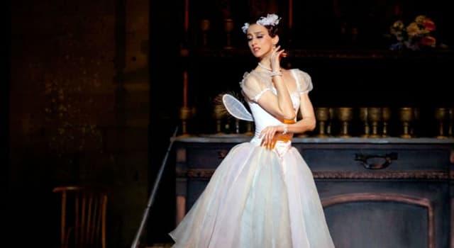 "Cultura Pregunta Trivia: ¿Dónde se estrenó el ballet ""La Sílfide"" en 1832?"