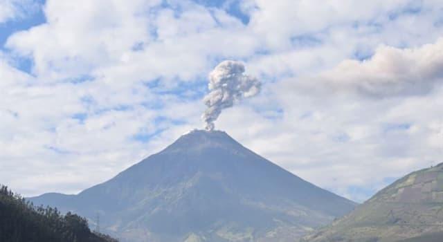 Geografía Pregunta Trivia: ¿En qué provincia de Ecuador se encuentra el volcán Sangay?