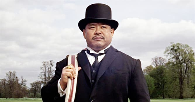 "Sport Trivia Question: Harold Sakata (Oddjob in the film ""Goldfinger"") won an Olympic silver medal at which sport?"
