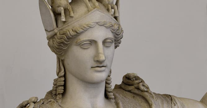 Culture Trivia Question: In Greek mythology, from which part of Zeus' body was Athena born?