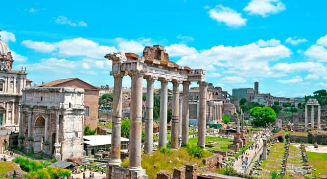 """Historia Pregunta Trivia: ¿Qué significaba en la antigua Roma el """"mundus patet""""?"""