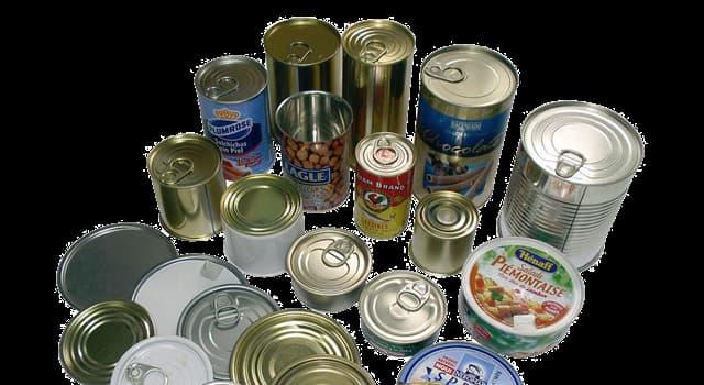 Historia Pregunta Trivia: ¿Quién inventó la lata de conservas?