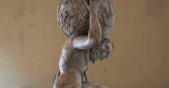Cultura Pregunta Trivia: ¿Quién sostuvo el cielo en lugar de Atlas en una ocasión?