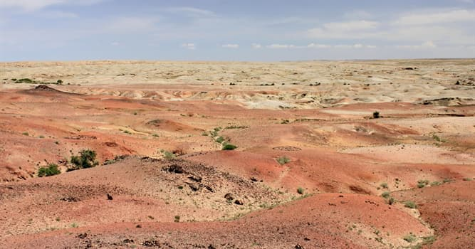 Geography Trivia Question: The Aralkum Desert is located in which countries?