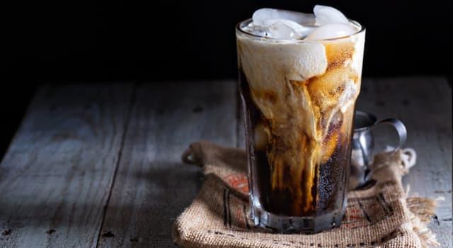 Cultura Pregunta Trivia: ¿Qué bebida de café contiene hielo?