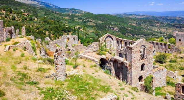 Historia Pregunta Trivia: ¿En qué país están las ruinas de Esparta?
