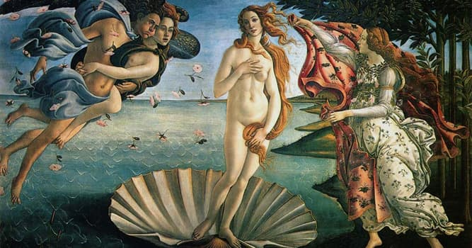 """Kultur Wissensfrage: Wer ist der Maler des bekannten Gemäldes """"Die Geburt der Venus""""?"""