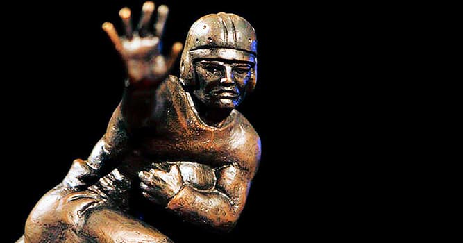 Sport Trivia Question: Who was the first Heisman Trophy winner to play Major League Baseball (MLB)?