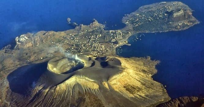 Geografía Pregunta Trivia: ¿A qué grupo de islas italianas pertenece la Isla Vulcano?