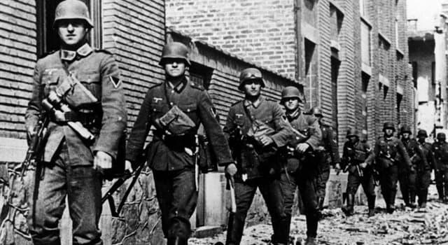 Historia Pregunta Trivia: ¿Cómo se conoció la primera fase de la ofensiva de la Wehrmacht en el frente occidental?