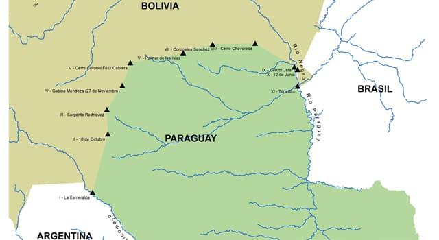 Geografía Pregunta Trivia: ¿Con cuántos paises tiene frontera terrestre Bolivia?