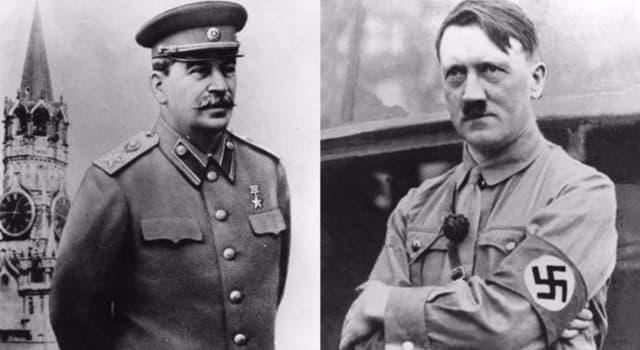 Historia Pregunta Trivia: ¿Con qué nombre fue conocido el pacto de no agresión entre alemanes y soviéticos?