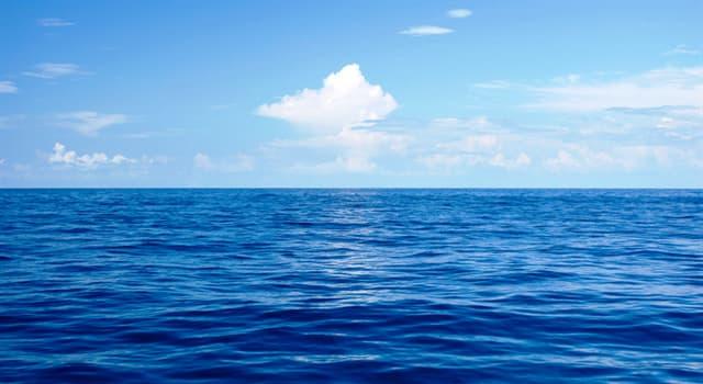 Geografía Pregunta Trivia: ¿Cuál es el único mar que no tiene costas?