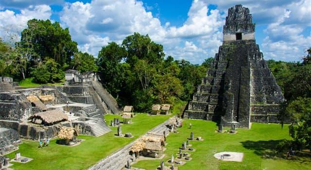 Cultura Pregunta Trivia: ¿Cuál es la causa probable del abandono de Tikal, según un estudio de la Universidad de Cincinnati?
